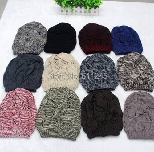 Min.order is usd15(mix order)High Quality Fashion New Jacquard Pattern Winter Acrylic Knit Beanie Hat(China (Mainland))