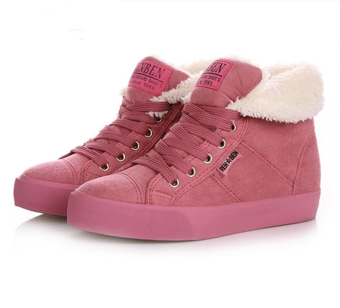 2014 spring autumn winter velutinous thermal liner snow boots high top height increased winter boots shoes woman x02 size35-39<br><br>Aliexpress