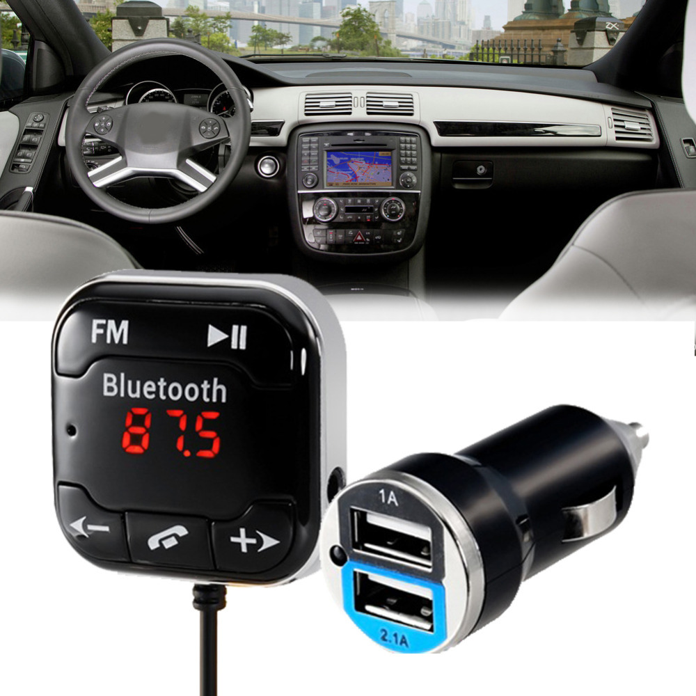 BUH9 New BT-760 Bluetooth Audio Receiver Hands-free Car Kit for Music &amp; Talking<br><br>Aliexpress