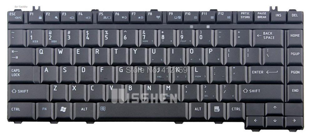 For Toshiba Qosmio F40 F45 G40 G45 Equium A200 Satellite Pro A200 Laptop/ notebook Keyboard US black(China (Mainland))