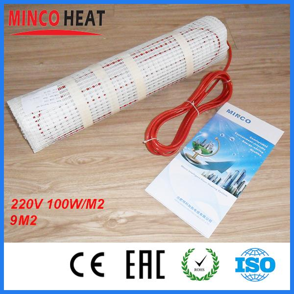 Garage electric radiant warm floor heating system floor film mat 9M2 100w/SQM  220 volts warm electric mats<br><br>Aliexpress