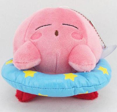 Fashion Kirby Plush Soft Toy 5 Inch Stuffed Animal Pink Kirby cute Doll Kids Toys Gifts(China (Mainland))