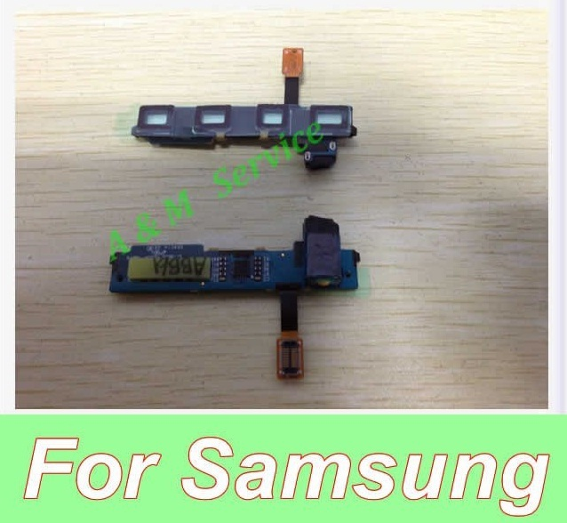 Replacement Home Button Keypad Backlight Headphone Jack Flex Cable For i9020 Nexus S  New Free Shipping