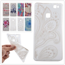 2016 Soft TPU Protector Case Coque Huawei P9 Lite Silicon 5.2 Inch Back Cover Fundas Phone - Civilization Co.,Ltd store