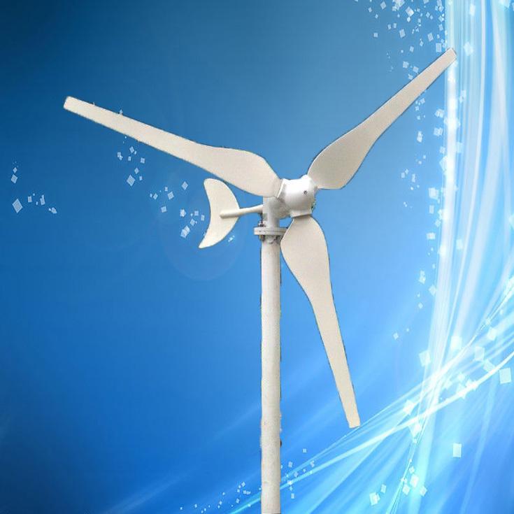 Low Wind Speed 50W 12VDC Wind Power Generator Max 100W Wind Turbine, CE Certificate + 3 Years Warranty!(China (Mainland))
