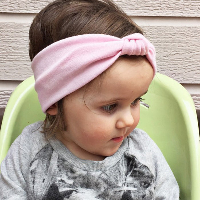 1 PCS Kids' Soft Baby Toddler Hairband Turban Knitted Knot Cross Headband Headwear Hot Hair Accessories(China (Mainland))
