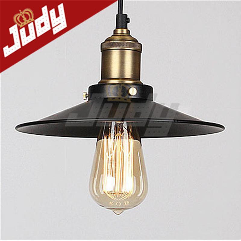 Judy Lighting Vintage Pendant Light Loft Retro Style Hanging Lamp Antique Edi