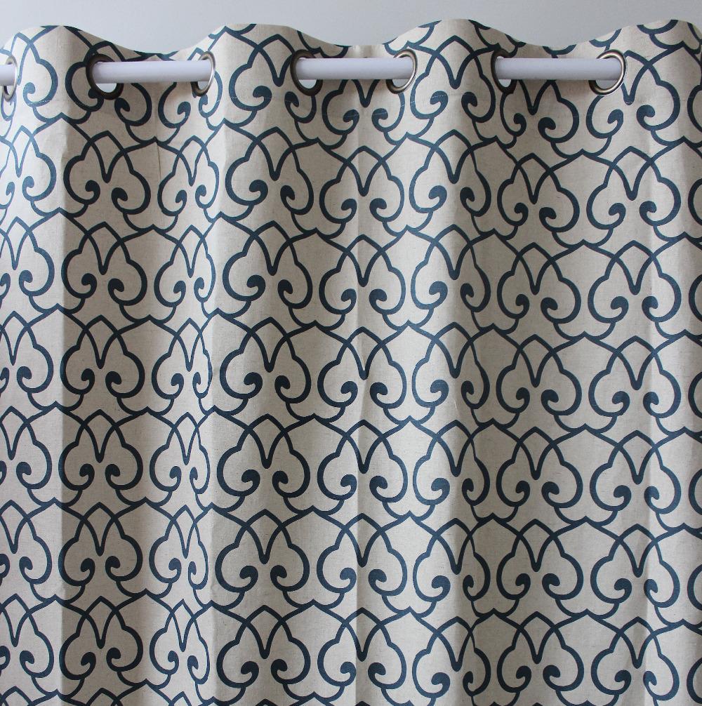Занавеска VEZO HOME 51 * 98 wzf2013-401geometrics abstract window ready curtain panel kicx kap 51