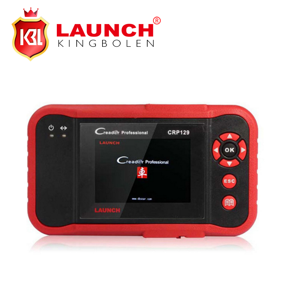 100% Original Launch X431 Creader CRP129 launch CRP129 ENG/AT/ABS/SRS EPB SAS Oil Service Light resets Code Scanner(China (Mainland))