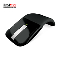 Wireless Mouse Sem Fio 2 4Ghz Microsoft Mouse Black For PC Laptop Foldable Flat Touch With