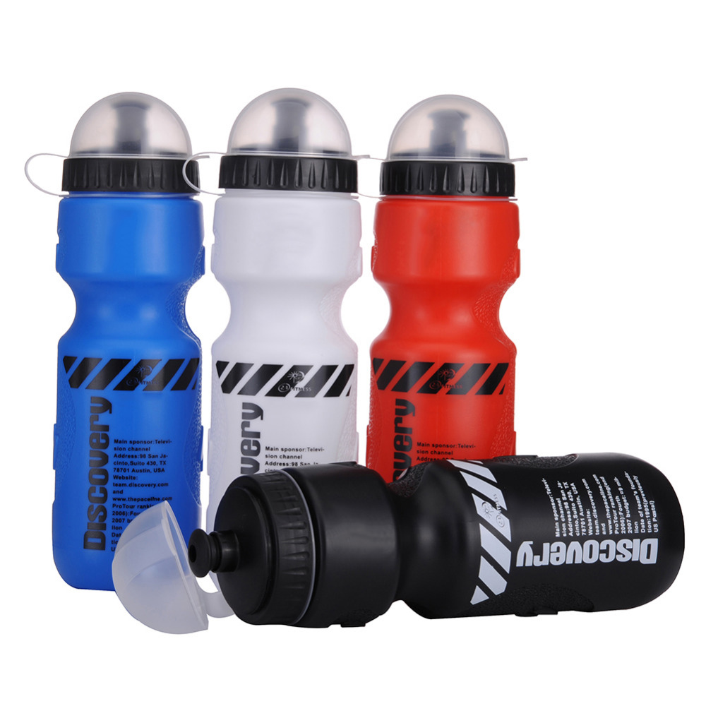 Sports Bottle Mountain Bike Cycling Water Bottle PVC Plastic Green Discovery Sports Cups Riding Equipment Sports Riding Cup(China (Mainland))