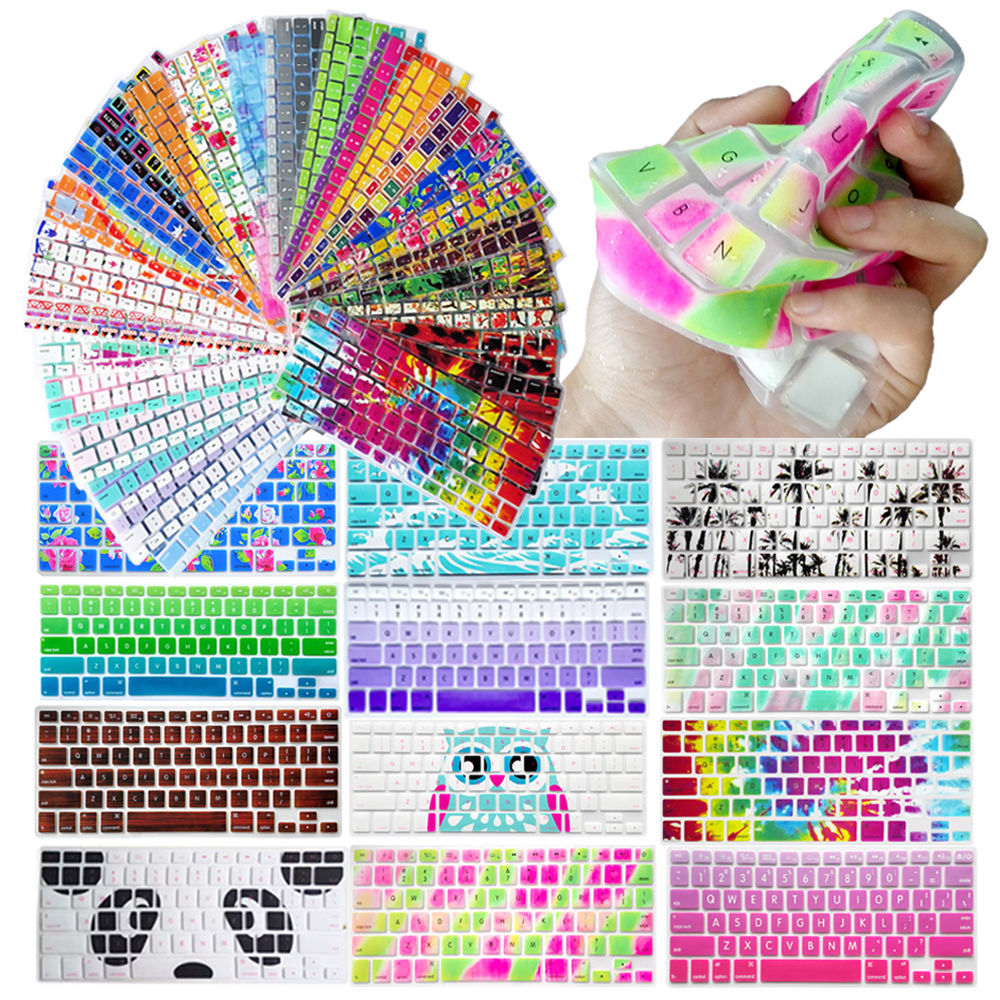 1PC Decal Animal Rainbow Silicone US Keyboard Cover Keypad Skin Protector For Apple Mac Macbook Pro 13 15 17 Air 13 Retina 13<br><br>Aliexpress