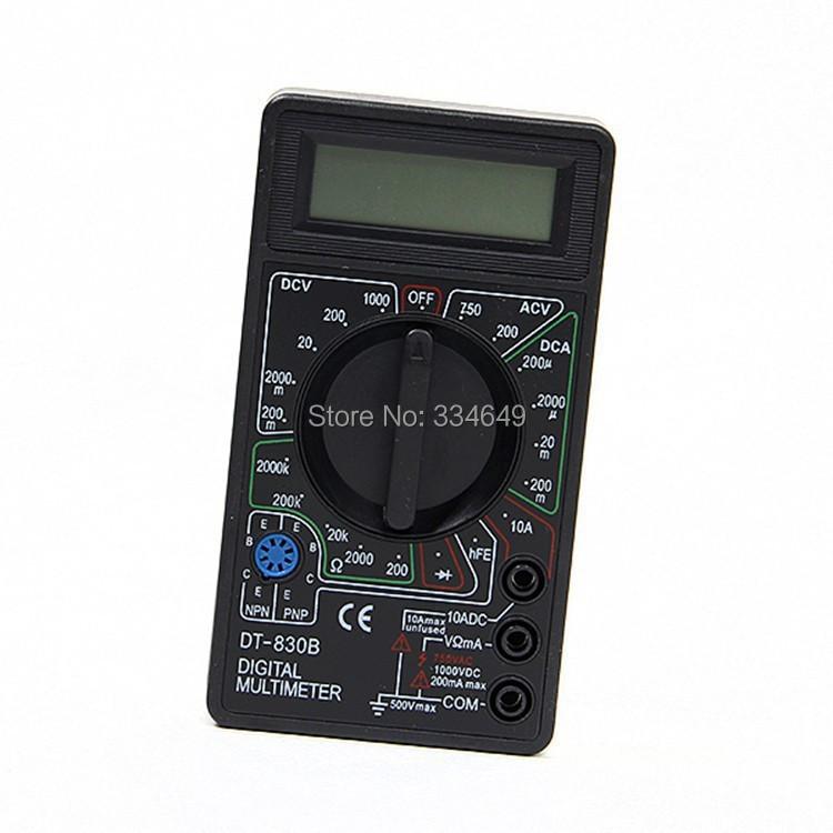 Professional Digital Multimeter DT830B AC/DC Ammeter Voltmeter Ohm Electrical Tester Meter Best Selling(China (Mainland))