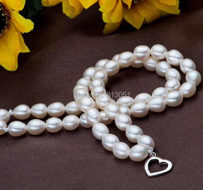 Free shipping!!!Freshwater Cultured Pearl Bracelet,Unique, Freshwater Pearl, sterling silver foldover clasp, Rice, natural<br><br>Aliexpress