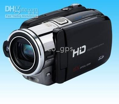 digital camcorder HDV-D9 Fress shipping by EMS/DHL Brand New HD 5x optical zoom(China (Mainland))