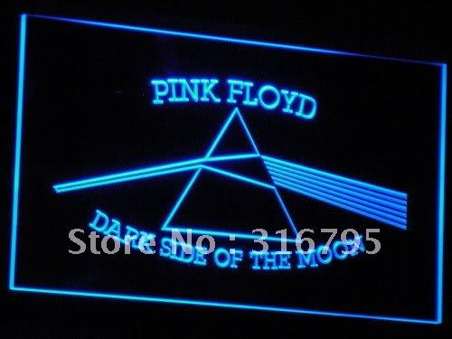 c059(a)-b Pink Floyd Rock n Rock Bar LED Neon Light Signs Wholesale Dropshipping(China (Mainland))