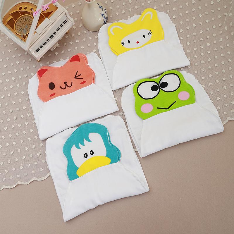 2016 Unisex boy & girls bamboo Baby Sweatbands Kids Absorbable Sports Sweat Towel Newborn Cartoon Bibs 23*40cm(China (Mainland))