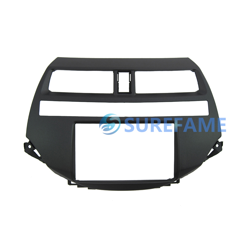 Free shipping Double Din Car Radio Adater Kit for Honda for Accord DVD Frame Dash Trim Panel Fascia Facia Installation Adaptor(China (Mainland))