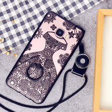 Buy Fashion Cute Animal US Captain Lace Eiffel Tower Ring Phone Case Coque Samsung Galaxy C5 C7 C9 Pro Hard Back Cover Fundas for $3.90 in AliExpress store