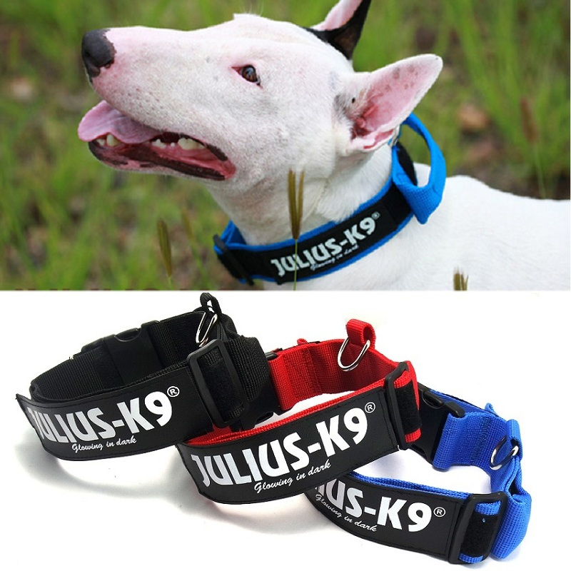 JULIUS K9 Nylon Dog collar Big Small And Medium-Sized Dog Pet Collar Pet Products Professional Dog Collar(China (Mainland))