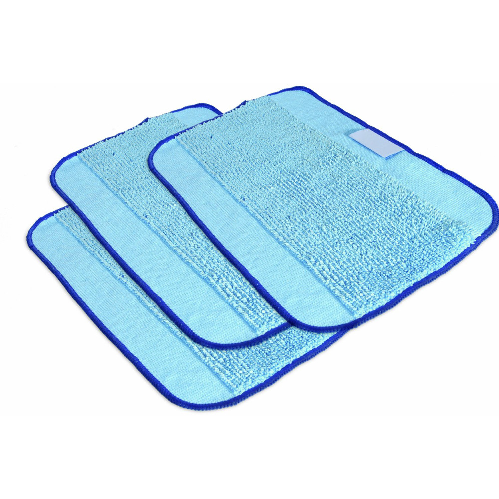 Fashion Heaven 3PC Pro-Clean Mopping Cloths for Braava Floor Mopping Robot 380 380T,jul 1(China (Mainland))