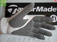 Guanti da golf maschili camoscio guanti da golf antiscivolo resistente all'usura per gli uomini mano sinistra in vera pelle pu dimensione 22 23 24 25 26 27(China (Mainland))