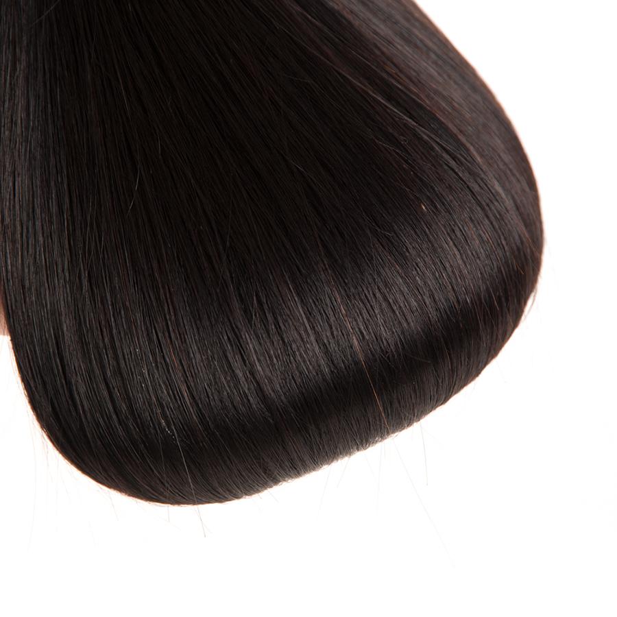 Wonder girl Malaysian Straight Hair Remy Hair Weaving 1 Bundle Natural Color 100% Human Hair Bundles Can Be Dyed