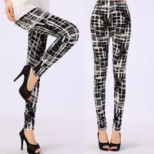Women Leggings Pantalones Black Milk Print Leggings Summer Style Soft To Skin Material Fitness Women Nine Leggins(China (Mainland))
