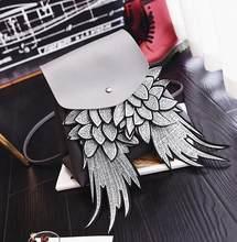 Женский модный рюкзак с крылом хорошего качества уникальный дизайн женская сумка из ПУ(China)
