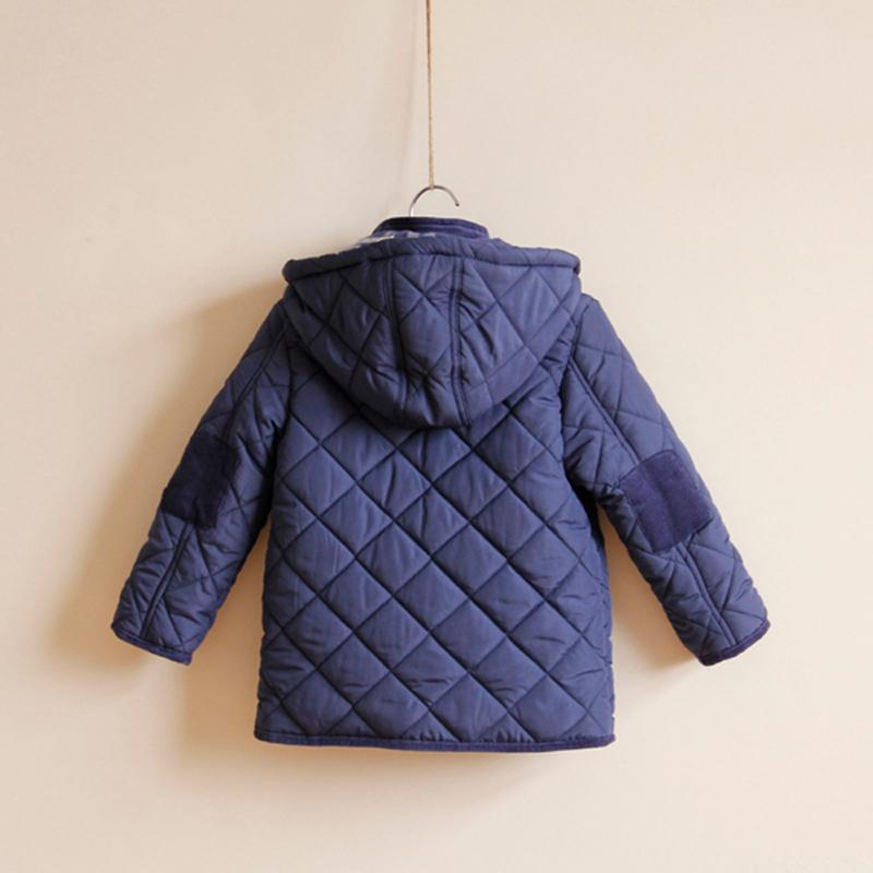 Куртка для мальчиков к 2015 году бренд мальчиков Пальто и куртки плед с капюшоном дети куртка мальчиков дизайн куртки детей верхняя одежда Зима 2-8y