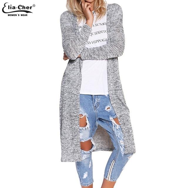 Cardigan Open Stitch Women Sweater 2016 Slim Lady Winter ...