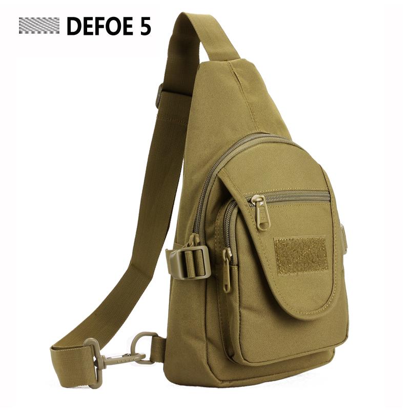 Camouflage ACU Sport Nylon Chest Pack Crossbody Single Shoulder Bag,Men Unisex Hot Item,Stealth Survival Tool Field MilSpecPack(China (Mainland))