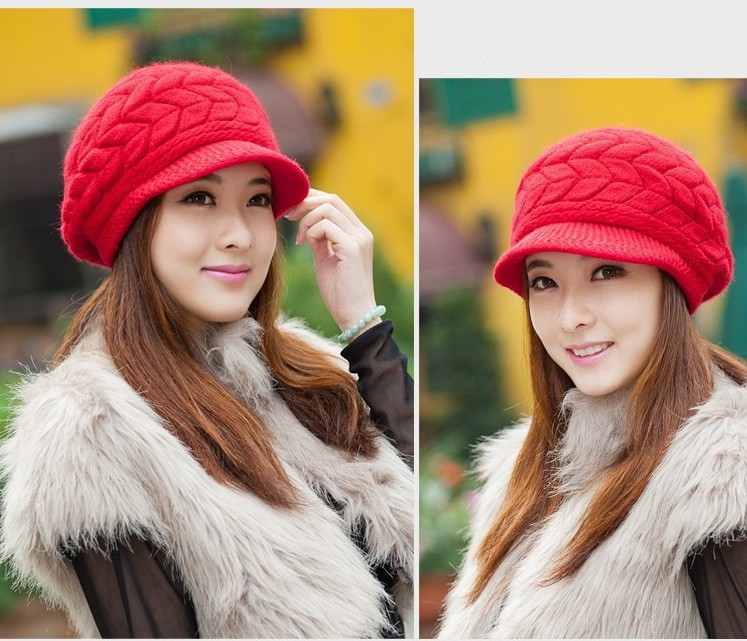 new 2015 fashion casual autumn winter women s warm caps ladies hats female women beanies free
