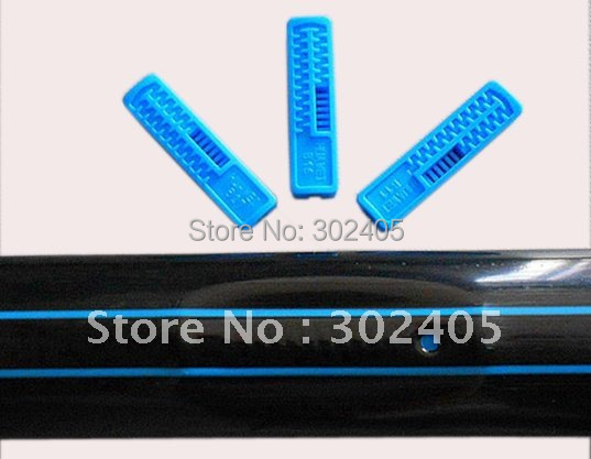 Drip irrigation line. Flat drip line. Drip tape. 0.25mm thickness +30CM SPACE. Free Shipping