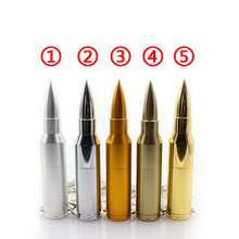 Metal pen drive Bullet usb stick usb flash drive 2G/4G/8G/16G/32G/64G pendrive flash card usb 2.0 U disk flash memory stick(China (Mainland))