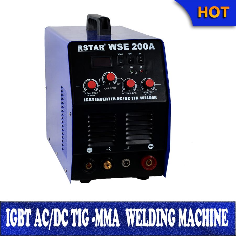 Inverter multi-purpose wse200amp AC aluminum copper tig DC Stainless steel tig welding DC ARC welding (IGBT Technology)(China (Mainland))