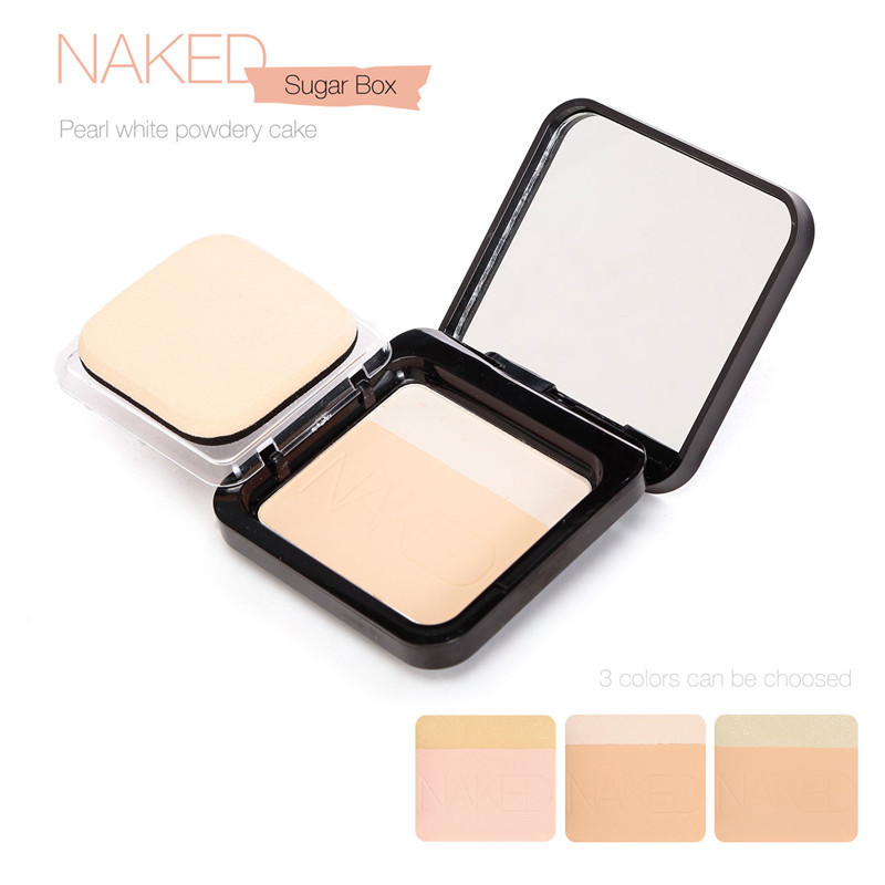 Pressed Powder for All Skin Brand Makeup Sugar Box Nake Professional Beauty Cosmetics Face Care Concealer Makeup<br><br>Aliexpress