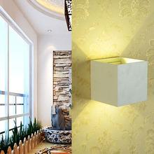 Led applique murale extérieure 6 W Led mur lampes Led étanche moderne Spot Externe appareils COB Led puces mur monté lampe AC85-265V(China (Mainland))
