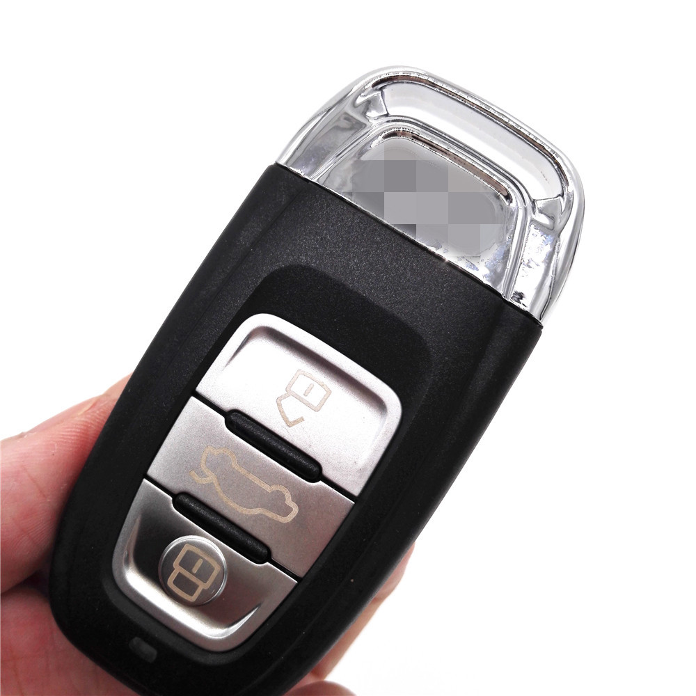 New 3 Buttons Smart Remote Car Key 315MHz 8T0 959 754 C For Audi A4L Q5(with logo)(China (Mainland))