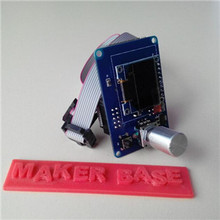 Reprap Ramps1.4 MKS 12864 OLED display 0.96inch smart controller mini oled screen for 3D printer support SD card ekran kart(China (Mainland))