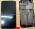 Black LCD Display Touch Screen Digitizer frame for Meizu MX3 M055 MX065 black color Free shipping
