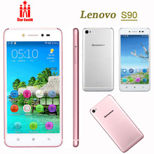 Lenovo Sisley S90 S90-U Original Cell Phones Qualcomm Quad Core 5″ 1280×720 Android 4.4.4 13.0MP Camera 2GB RAM 4G LTE Dual SIM