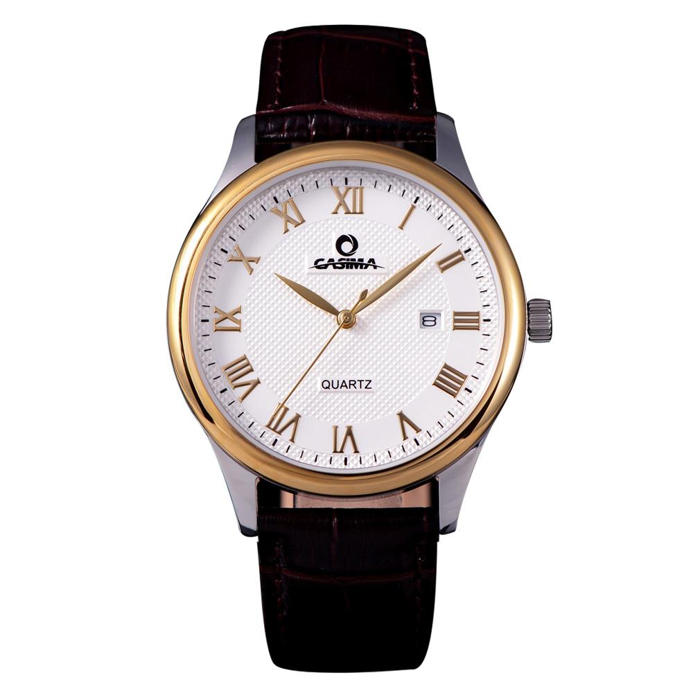 Buy luxury brand watches men business classic relogio masculino men 39 s quartz for Casima watches