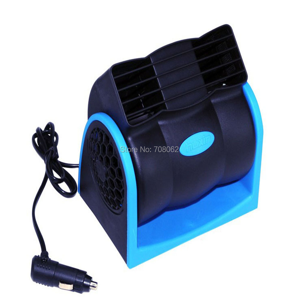Adjustable Mini Air Blower : Car cooling air fan v adjustable silent cooler speed new