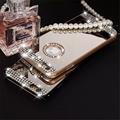 Pure handmade diamond shiny diamond mirror case for iphone 4 4S 5 5S 6 6s / 6 Plus / 6s plus