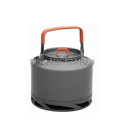 Free Shipping Outdoor Heat Exchanger Kettle Pot Camping Picnic Cookware Kettle Pot Outdoor Camping Equipments Wholesale FMC-XT2<br><br>Aliexpress