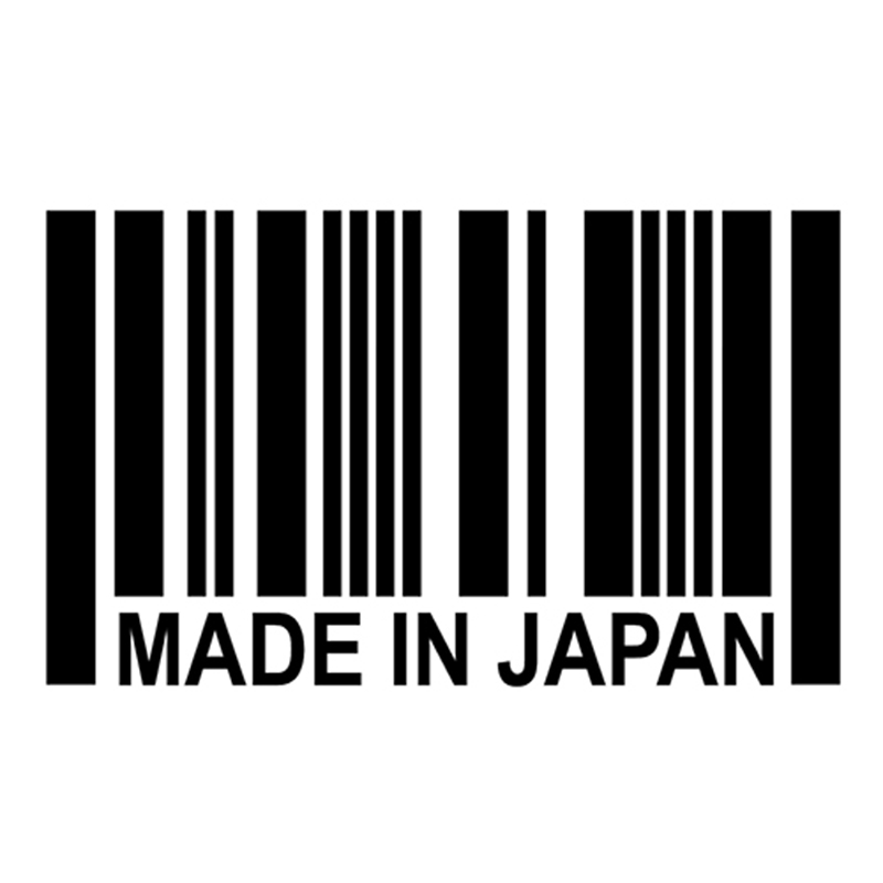 Made In JAPAN Barcode Sticker -JDM Reflective Vinyl Decal Sticker Great For Your Car Truck Window Bumper(China (Mainland))