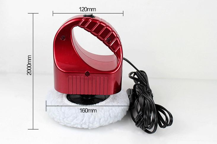 Mini 12V Vehicle Mounted Car Waxing Machine pulidora Electric Car Polishing Machine Wax Polisher Or Home Use(China (Mainland))
