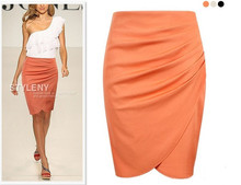 Vestidos New 2015 summer women skirts fashion sexy package hip maxi skirt pencil bodycon skirt OL elegant chiffon casual skirts