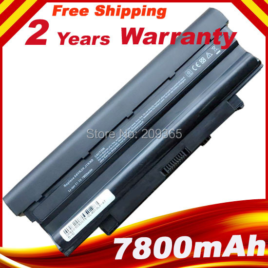 Гаджет  9cells 7800mAh Laptop Battery For DELL Inspiron N5010 N5110 J1KND 14R N4010 N4010-148 15R 17R N7010 J1KND None Компьютер & сеть